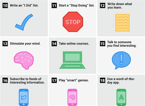Infographic 24 Daily Habits That Will Make You Smarter Designtaxi Infographic 24 Daily Habits That Will Make You Smarter Designtaxi