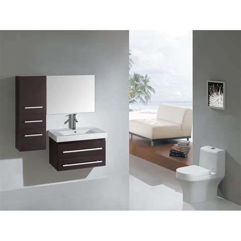 virtu bathroom accessories virtu usa antonio 29 quot single sink bathroom vanity