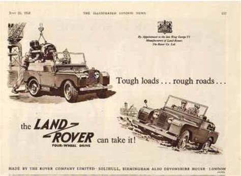 vintage land rover ad vintage land rover ad vintage advertisement landrover