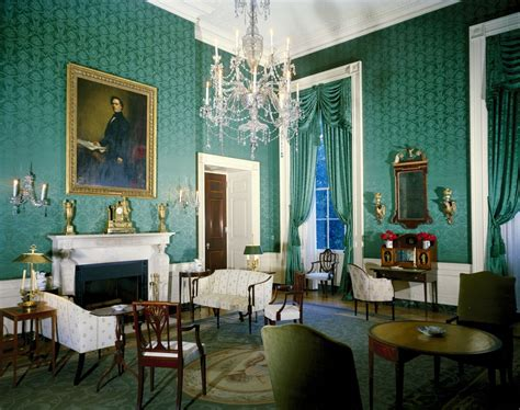 Green Room White House by Kn C19682 Green Room Of The White House F Kennedy