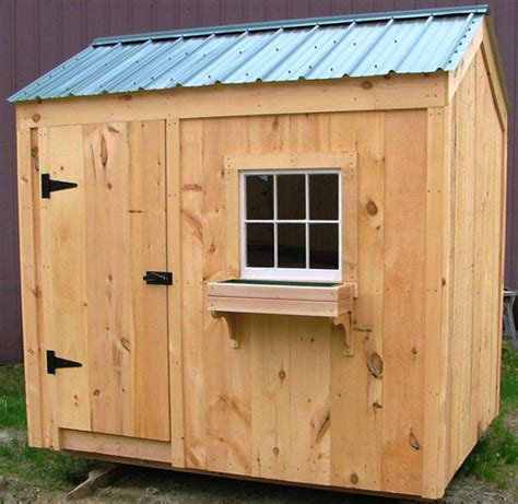 6 X 8 Wood Storage Shed by Building A Shed Into A Hillside Live In Sheds Ireland 6