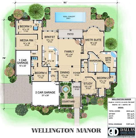 Dallas Design Home Plans by Quot Wellington Manor Quot House Plan From Dallas Design