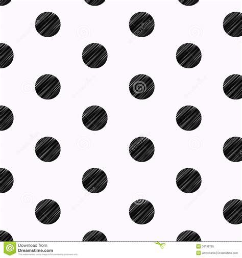 dot pattern drawing black polka dots pencil drawn pattern royalty free stock