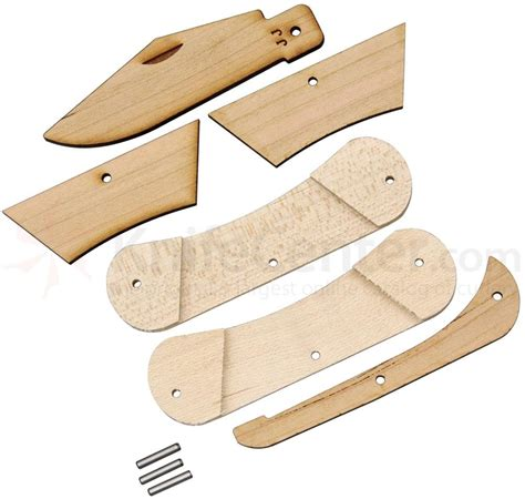 pocket knife kit woodworks jj s original wooden pocket knife kit