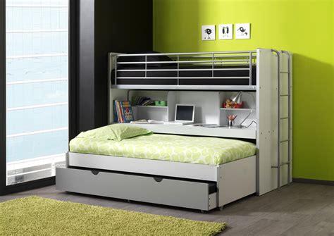 lits enfant superpos 233 s combin 233 avec tiroir lit blanc bleu
