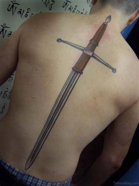sword tattoo 40 sword tattoos for back