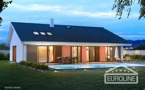 House Plans With 3 Car Garage Bungalov 1572 Family Houses Euroline 1