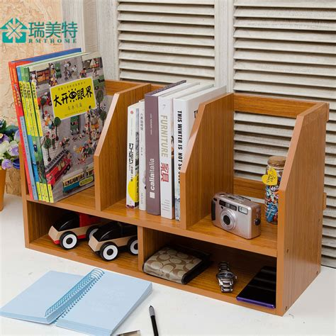 Small Desk With Shelves Creative Simple Rui Us Special Small Desktop Bookshelf Desk Small Bookcase Shelves Table Storage