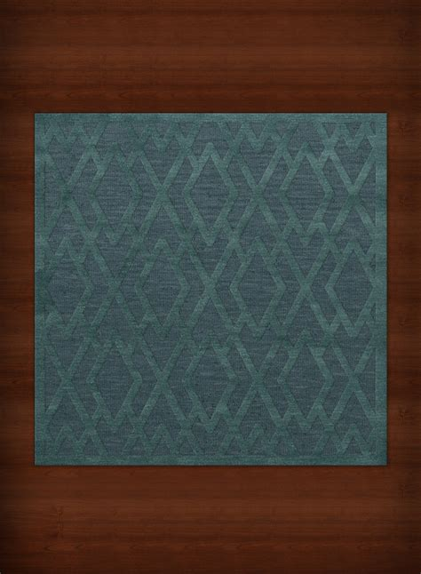 rugs square payless troy tr1 144 teal square rug