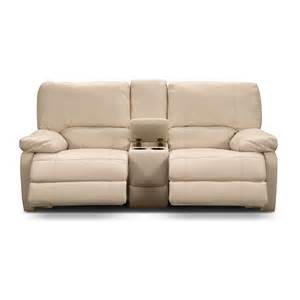 Power Loveseat Coronado Leather Power Reclining Loveseat Value City