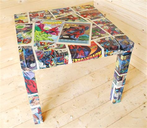 Decoupage Comics - table decoupage comics olly s room