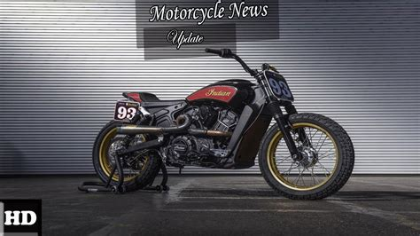Indian Scout Motto by News Indian Scout Ftr 1200 Custom