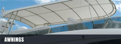 awning boat marine awnings gold coast marine stainless steel fabrication