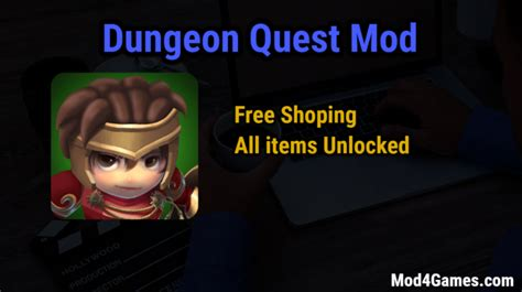 cara mod game dungeon quest free shopping archives mod4games com