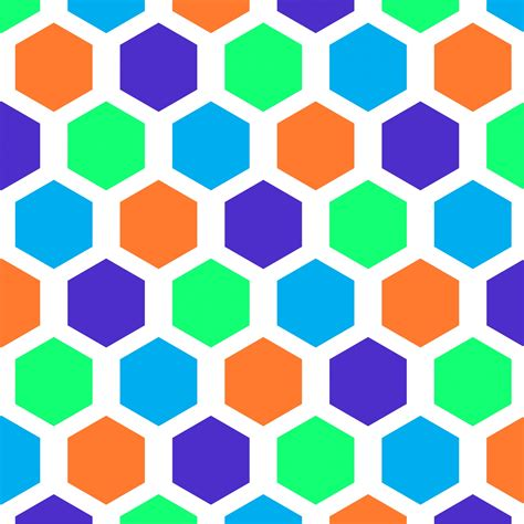 seamless hexagon pattern hexagon pattern seamless wallpaper free stock photo