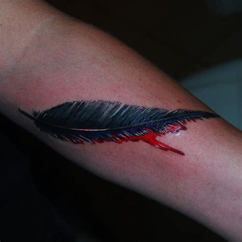 Arm Feder 5781 arm feder hommage indianer armband feder