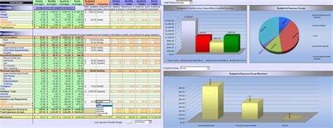 excel 2007 budget template excel 2007 home budget spreadsheet household