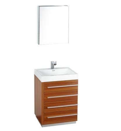 24 inch bathroom vanities and cabinets 24 inch teak modern bathroom vanity with medicine cabinet