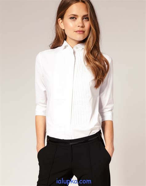 Crisp Feminine Top 3 by женские блузки оптом от производителя