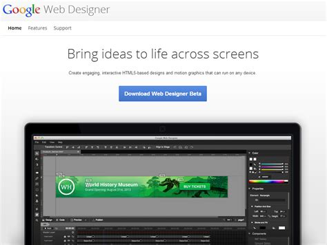membuat website html5 membuat website banner html5 dengan google web designer