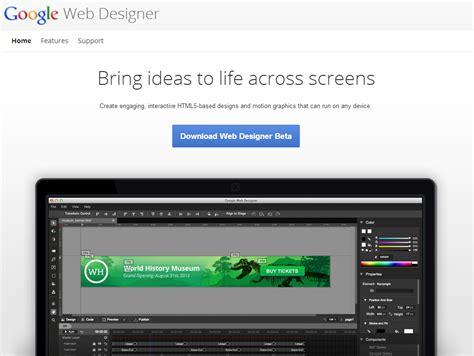membuat header html5 membuat website banner html5 dengan google web designer