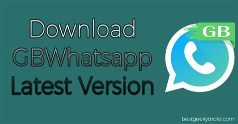 newest apk gbwhatsapp apk version 2017 updated