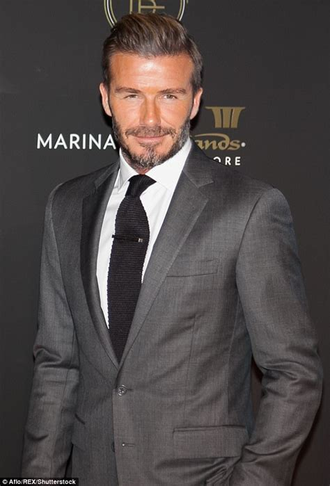 what product does david beckham use on his hair david beckham vows to never use botox daily mail online