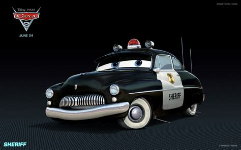 Disney Pixar Cars Sheriff Car sheriff disney pixar cars 2 free hd wallpaper