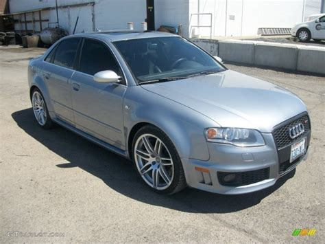 Audi Rs4 2007 by 2007 Avus Silver Pearl Effect Audi Rs4 4 2 Quattro Sedan