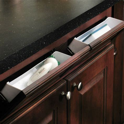 kitchen sink cabinet tray hafele sink front tip out tray set for kitchen or vanity