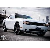 DUB Rims Gives The Dodge Challenger More Muscle