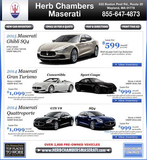 Herb Chambers Maserati by Herb Chambers Maserati Upcomingcarshq