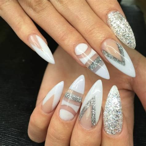 Modele Ongle Blanche by 1001 Id 233 Es Impeccables Pour Une Manucure Blanche