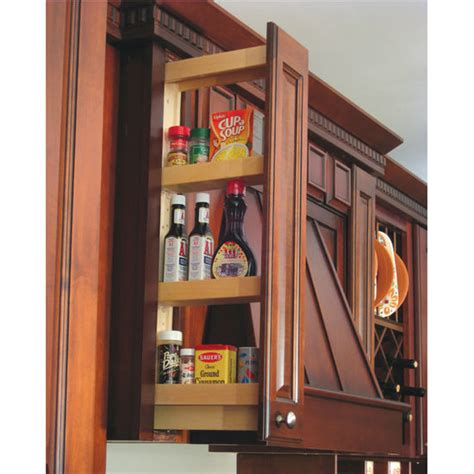 pull out spice rack for upper cabinets kitchen organizers maple kitchen upper cabinet wall