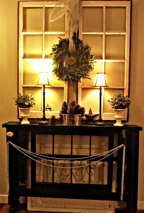 christmas entryway decor ideas    love