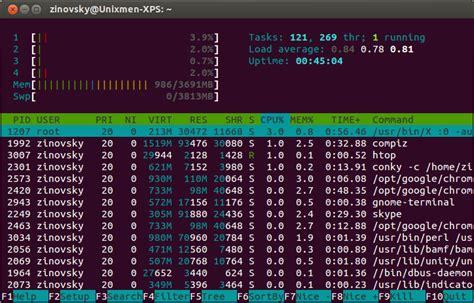 tutorial ntop linux htop a colored alternative to ntop unixmen