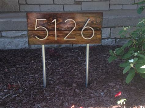 Address Plaques For Front Yard - best 25 address signs ideas on address signs
