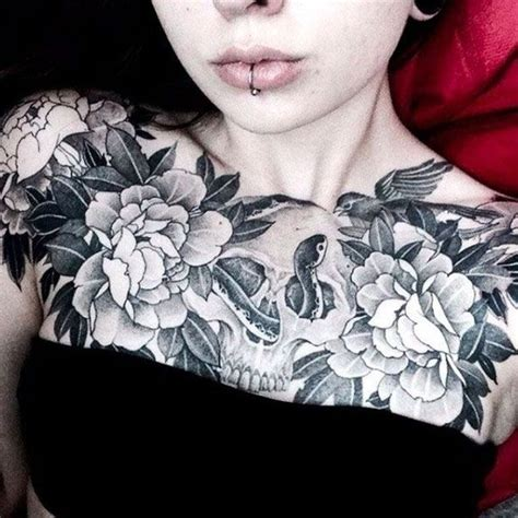 tattoo on chest for female best 25 chest tattoo ideas on pinterest chest tattoo