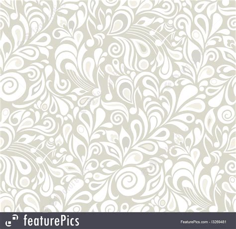 Floral Light Pattren abstract patterns light gray decorative floral pattern