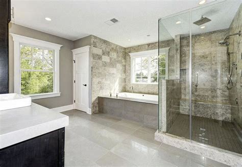 Paint Color Ideas For Bathroom travertine shower ideas bathroom designs designing idea