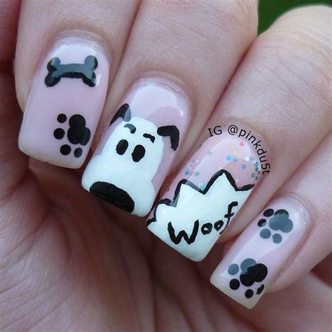 puppy nails best 25 nails ideas on nail easy nail designs and easy