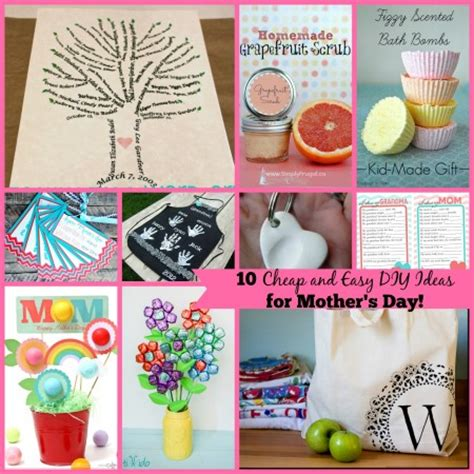 10 inexpensive adorable diy ideas for mother s day