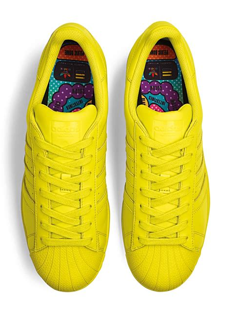 Supercolor Adidas adidas superstar supercolor schuhe bright yellow im weare shop