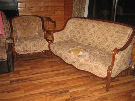 Hometalk   A Beautiful Antique Sofa Reupholstered. What an