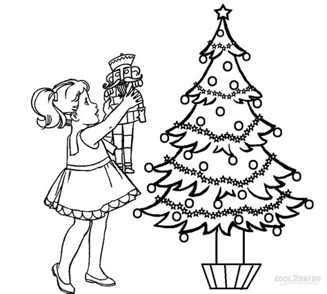 nutcracker clara free colouring pages