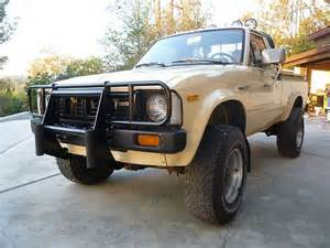 buy used 1981 toyota 4x4 sr5 1ca owner orig paint 5sp low