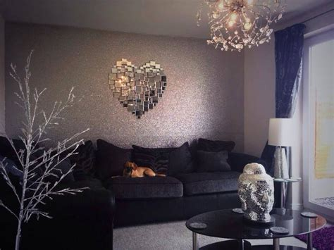 silver wallpaper for living room glitter wallpaper glitter wallpaper downstairs loo and wallpaper