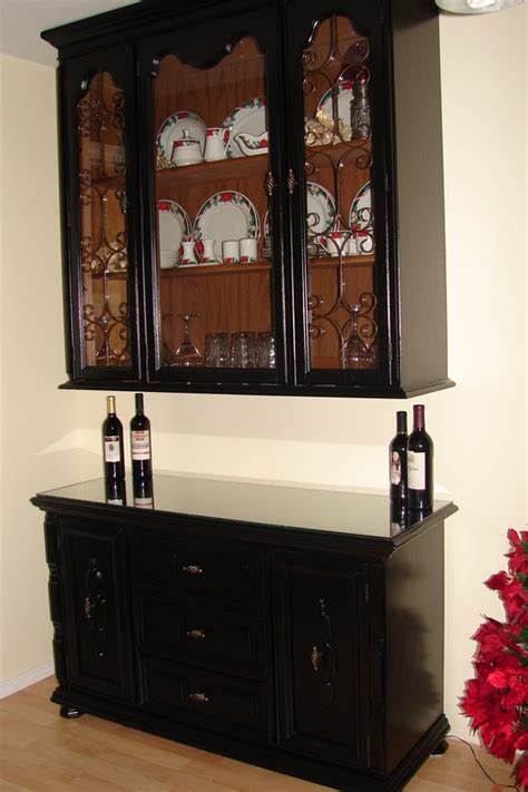 repurpose old china cabinet repurpose an old buffet or china hutch into a wine bar