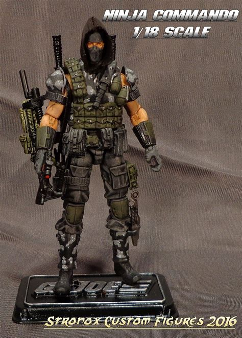 figure custom stronox custom figures gi joe commando