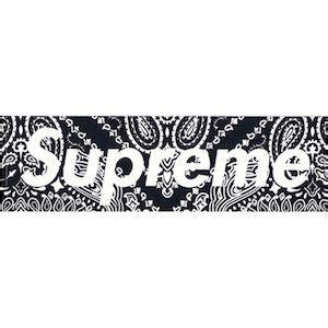 Supreme Smaile Logos 楽天市場 size フリー supreme boxロゴステッカー ペイズリー柄 黒 新古品 未使用品 ブランド